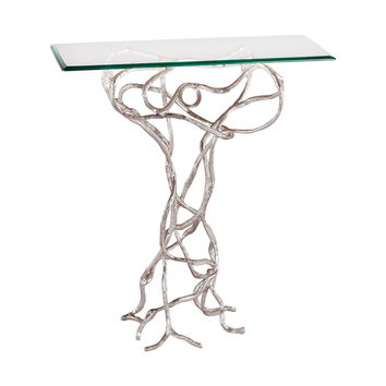 Grove Side Table Silver Plate