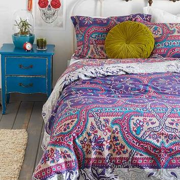 Magical Thinking Medallion Duvet Cover- Multi Full/queen