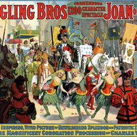 Ringling Bros. Joan Of Arc Circus Poster