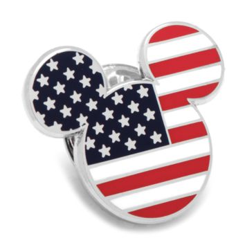 American Flag Mickey Mouse Lapel Pin BY DISNEY