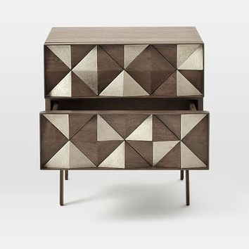 Roar + Rabbit Diamond Rhombus Nightstand