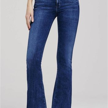 Fleetwood High Rise Flare Jean in Waverly