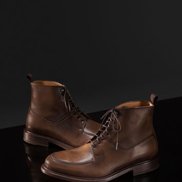 LIMITED EDITION ANKLE BOOT WITH RIVETING - NYC Limited Edition - Shoes - MEN - United States of America / Estados Unidos de América