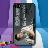 Easton Corbin Message to HIs Fans Country Music iPhone 4 or iPhone 4S case Cover
