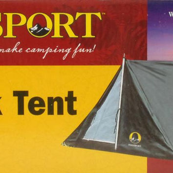 "Stansport - 1 MAN A FRAME TENT 6'6"" X 4'6"" X 36"""