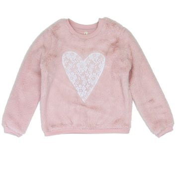 Pink Cozy Pullover 2T - 4T