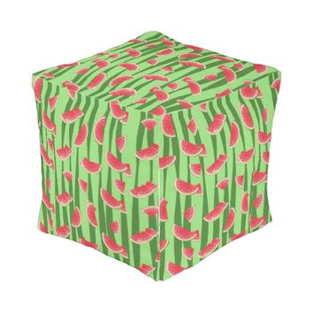 Watermelon Outdoor Pouf