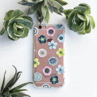 Sylvan Succulent - Clear TPU Case Cover
