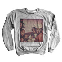 Biggie Sweatshirt | Notorious BIG, Snoop Dogg, Puff Daddy, Throwback Sweater | Classic Hip Hop Clothing