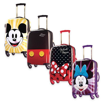 Disney® 21-Inch 4-Wheel Carry On Spinner Suitcase from American Tourister®