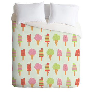 Nicole Martinez Ice Cream Duvet Cover