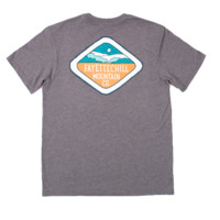 Fayettechill Mountain Club 2.0 Tee- Heather Grey