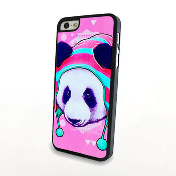 Cute Panda Wearing a Hat iPhone 5 / 5S