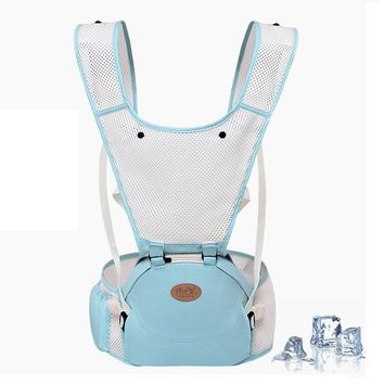 0-30 Months Ergonomic Baby Carrier 360 Breathable Front Facing Baby Carrier 3 in 1 Infant Comfortable Sling Backpack Pouch Wrap