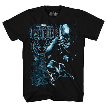 Marvel Avengers Black Panther Comic Superhero Boys T-Shirt