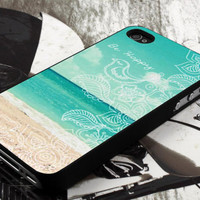 be happy beach design  for iPhone 4 case, iPhone 4s case, iPhone 5 case, samsung galaxy S3 and samsung galaxy S4 case