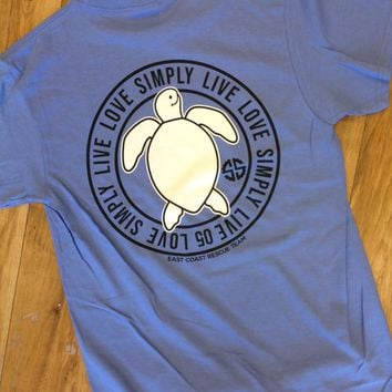 Simply Southern  Live Love Simply Short Sleeve T