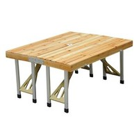 Portable Picnic Table – Wood
