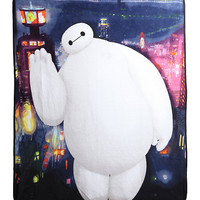 Big Hero 6 Baymax Fleece Throw