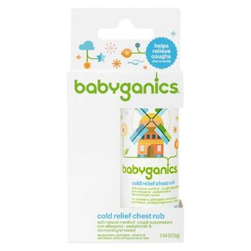 Babyganics Cold Relief Chest Rub - 0.64oz