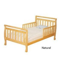 AFG Baby Furniture 7008N Athena Anna Toddler Bed in Natural,