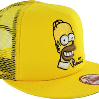 The Simpsons Homer Adult Basic Mesh 950 Adjustable Hat, Small/Medium