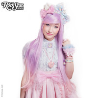 RockStar Wigs®  Ombre Alexa™ Collection - Lavender to Pink Fade -00200
