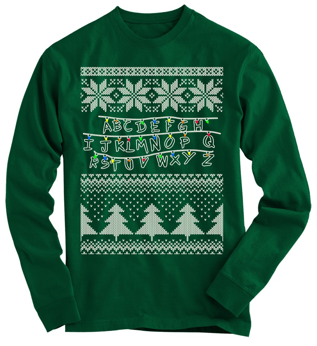 Stranger Things Ugly Christmas Sweater from Gnarly Tees | Things