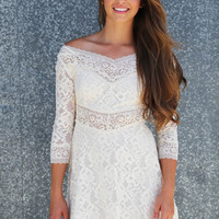 Unstoppable Lace Dress
