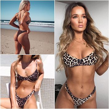 Sexy New Arrival Swimsuit Beach Summer Hot Ladies Swimwear Print Bikini [2072813174838]