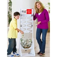 Deluxe Donation Stand-White Frame