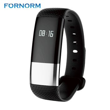 FORNORM M4 Smart Bracelet Blood pressure Dynamic Heart Rate Sports Fitness Tracker Smart Wristband IP67 waterproof  Watch