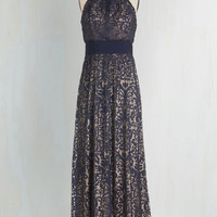 Long Sleeveless Maxi Chance to Captivate Dress