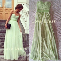 weetheart Floor Length Prom Dress/Graduation Dresses