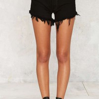 After Party Vintage Levi's 501 Cutoff Shorts - Black