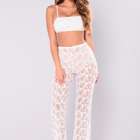 Loves Ones Lace Set - White