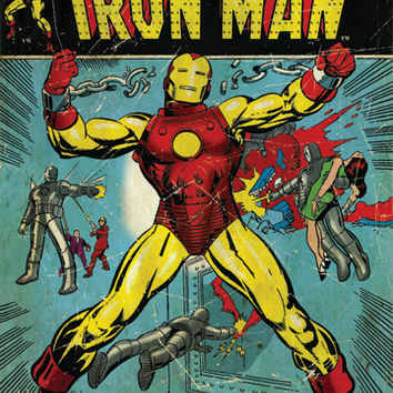 Iron Man Comics 2 Poster