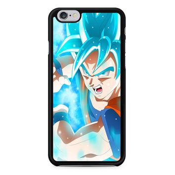 Goku Super Saiyan Blue Dragon Ball iPhone 6/6S Case