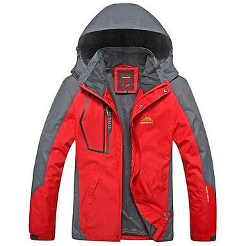 Camping Hiking Jackets Women Men Outdoor Climbing Mountain Rain Coat Trekking Sport Windbreaker Waterproof Jacket