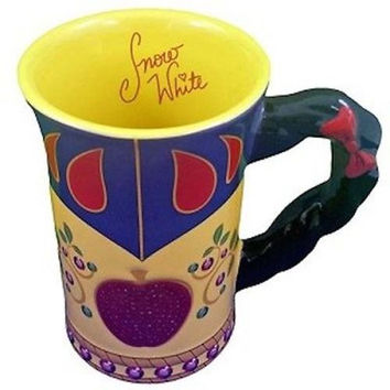 disney parks princess snow white dress signature ceramic coffee mug new