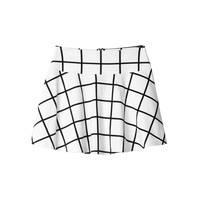 Edda grid skirt | Skirts | Monki.com