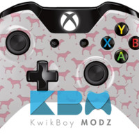 PINK Dogs Xbox One Controller