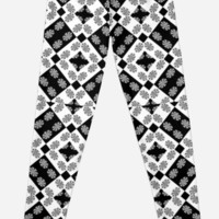 'Geometric Modern Baroque' Leggings by DFLC Prints