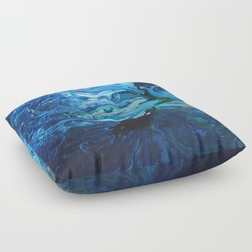 Organic.2 Floor Pillow by DuckyB