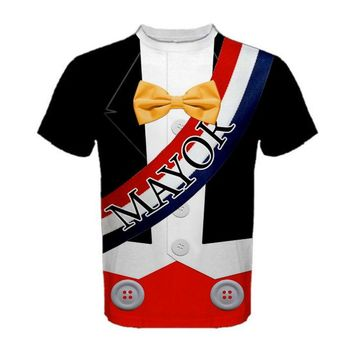 Men's Mayor Mickey Mouse Inspired Shirt