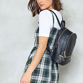 WANT Don't Get Carried Away Vegan Leather Backpack