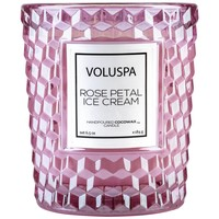 Voluspa Rose Ice Cream Classic Candle