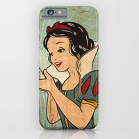 Snow White and her Xanax  iPhone & iPod Case by Francesco Salerno