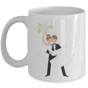 Future bride Coffee Mug - White Porcelain Coffee Cup,Premium 11 oz White coffee cup
