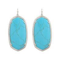 Kendra Scott Danielle Drop Earrings Turquoise